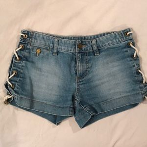 Tory Burch denim shorts